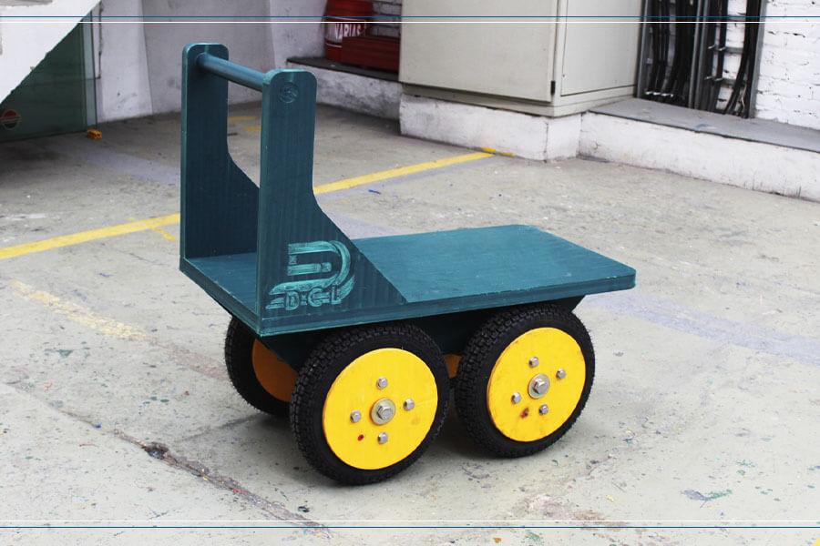 carrito-carreta-para-mina-en-plastico-de-alto-impacto-resistente-de-color-verde-fabricado-por -maderplas